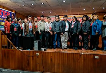Sute arequipa docentes nueva dirigencia regional