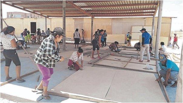 Ante la inoperancia del gobierno, padres de familia se organizan. Foto: Correo.