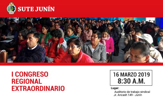 Congreso Regional del Sute Junín