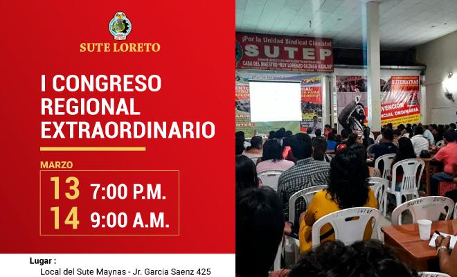 Congreso Regional del Sute Loreto