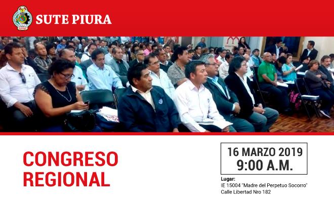 Congreso Regional del Sute Piura