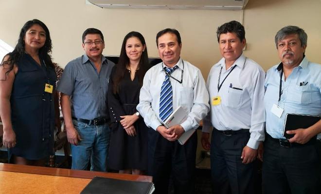 Reunión del Sutep con funcionarios del MEF