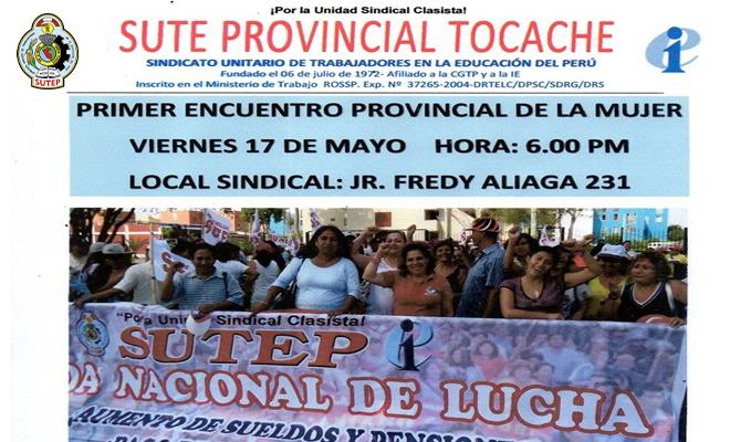 Sute Provincial Tocache