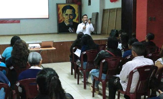 Seminario de nombramiento del Sutep