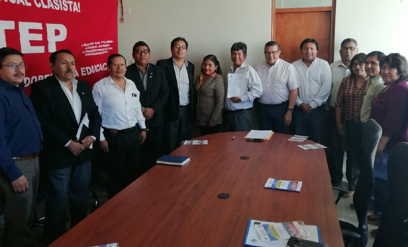 Mesa de trato directo entre el Sutep y el gobierno regional