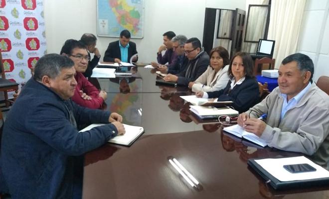El Sutep se reune con el gobierno regional de amazonas