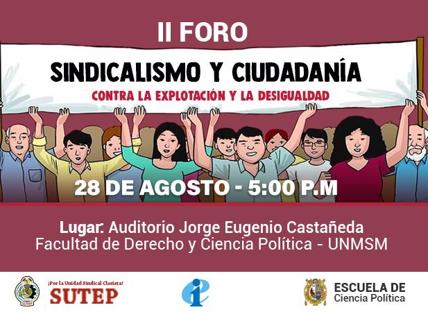 II Foro sobre sindicalismo y ciudadanía